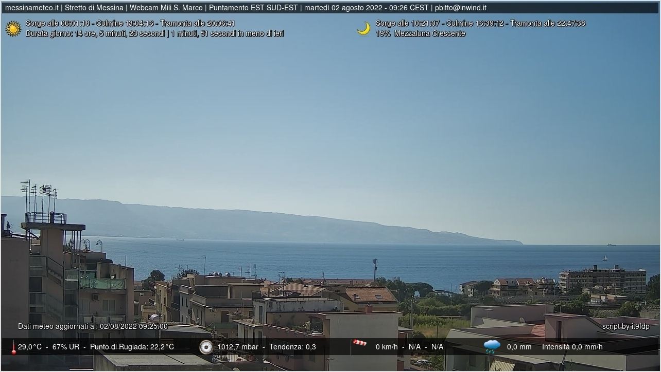 Webcam Messina Il Porto