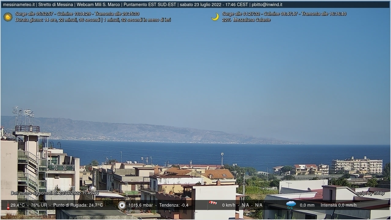 Webcam a Messina (ME)