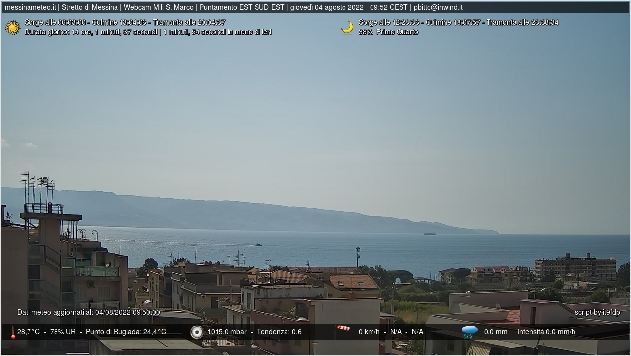 Webcam Messina