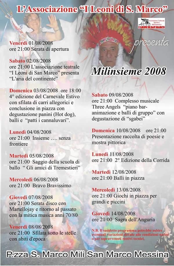 Mili insieme 2008